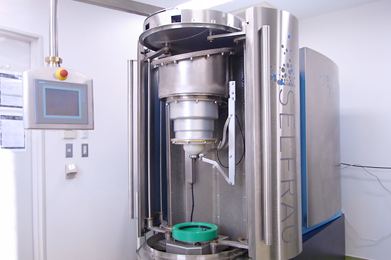 高電圧パルス選択性粉砕装置 (Selfrag Lab)